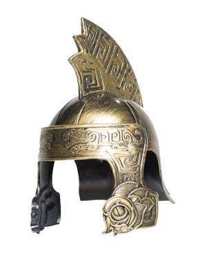 Antique Gold Trojan Warrior Costume Helmet