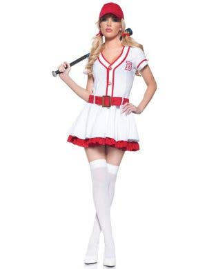 Home Run Honey Women's Sexy Baseball Costume