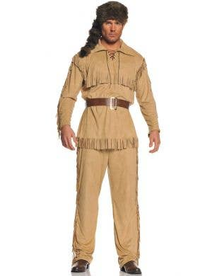 Frontier Man Daniel Boone Men's Fancy Dress Costume