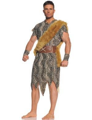 Cave Dweller Men's Caveman Fancy Dress Costume