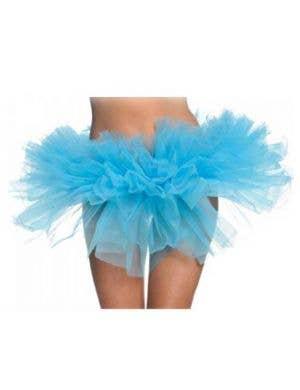 Ruffled Bright Blue Costume Tutu