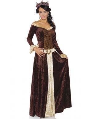 My Lady Women's Deluxe Medieval Fancy Dress Costume