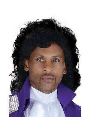 Prince Pop Icon Style Men's Costume Wig