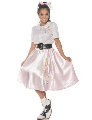 1950's Sock Hop Women's Retro Fancy Dress Costume
