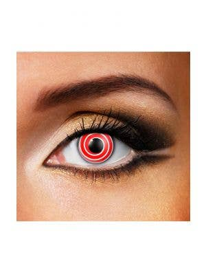 Spiral 90 Day Wear Red Contact Lenses