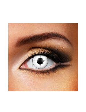 Target Sight Black & White 90 Day Wear Contact Lenses