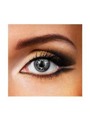 Sorcerer Black & White 90 Day Wear Contact Lenses