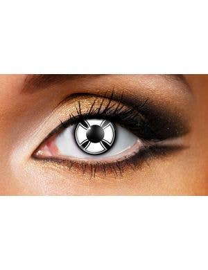 Cross Pattern 90 Day Wear Contact Lenses