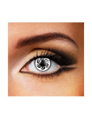 Tribal Black and White 90 Day Wear Contact Lenses