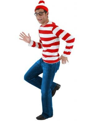 Where's Wally Adult's Fancy Dress Costume