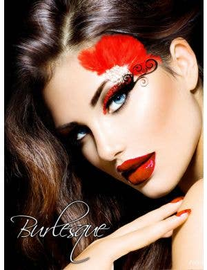 Burlesque Fan Women's Stick On Makeup