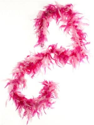 Feather Boa in Pink - Two Tone