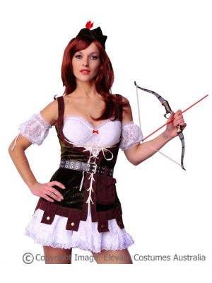 Robin Hood Hunter Sexy Women's Costume