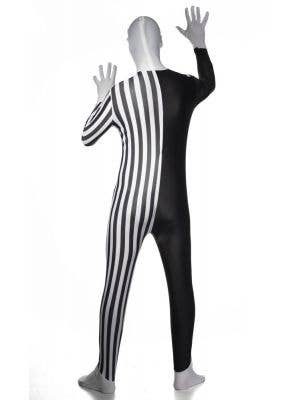 Happy Clown Adult's Budget Skin Suit Costume