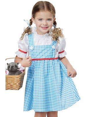 Wizard of Oz Dorothy Toddler Girls Costume