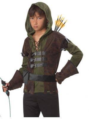 Robin Hood Boys Fancy Dress Costume