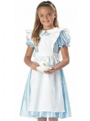 Classic Alice In Wonderland Girls Costume