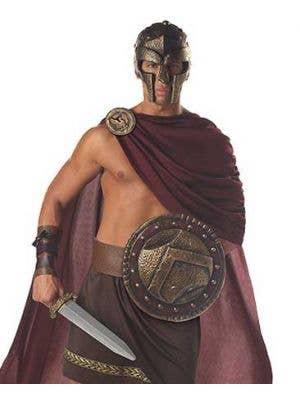 Spartan Warrior Men's Fancy Dress Costume
