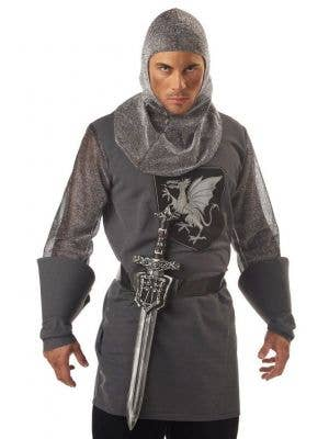 Medieval Knight Sword and Sheath Accessory Set