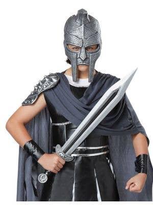 Roman Gladiator Sword and Mask Set