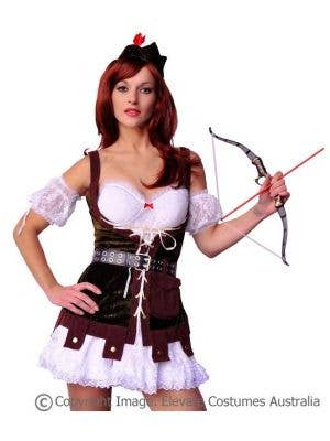 Robin Hood Hunter Sexy Women's Costume