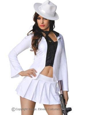 Chicago Gangster Gal Women's Sexy Mob Costume