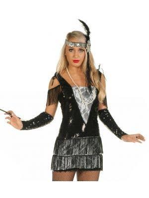 Gatsby Flapper Girl Teen 1920's Costume