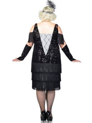 Miss Elsie 1920s Flapper Plus Size Costume Womens Flapper Dress
