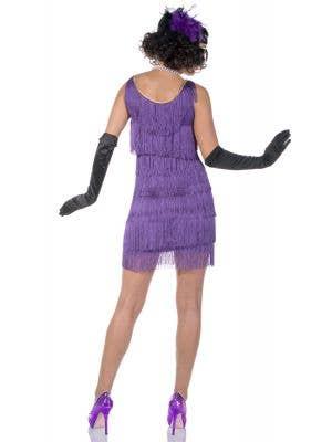 Speakeasy 1920's Purple Flapper Sexy Costume