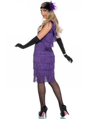Chicago Long Purple Flapper Costume