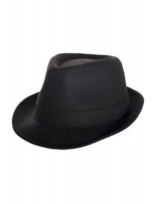 1920's Adults Black Gangster Trilby Costume Hat