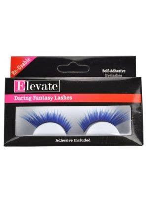 Tinsel Highlights Split Blue False Eyelashes