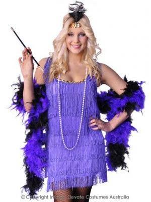 Purple Flapper Dress Women's 1920's Costume
