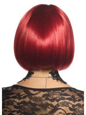 Eva Halloween Deluxe Red Bob Wig