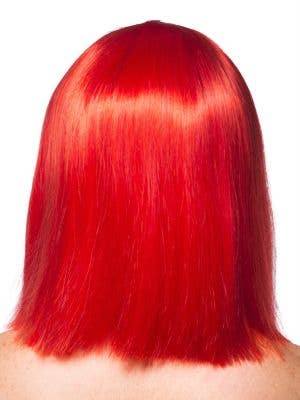 Deluxe Crystal Bob Wig in Red