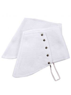 Gangster White Spats Shoe Covers Costume Accessory