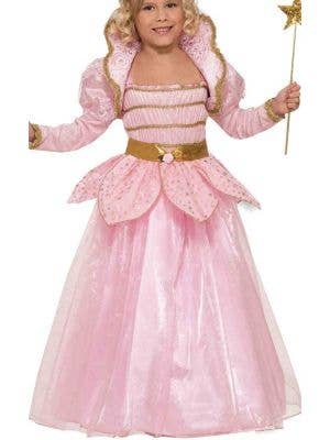 Pretty Pink Princess Deluxe Girls Costume