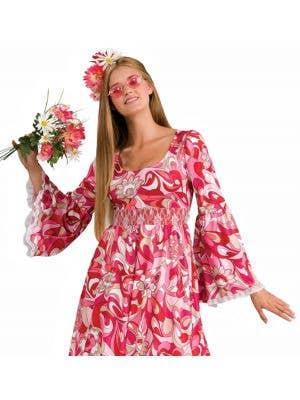 Flower Child Women's 1970's Hippie Costume