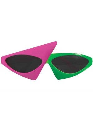 80's To The Maxx Two Tone Sunglasses