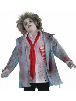 Undead Zombie Boy Halloween Dress Up Costume