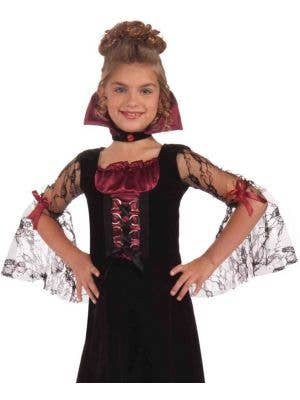 Miss Vampiress Girls Halloween Costume