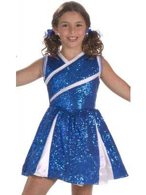 Sparkling Sassy Cheerleader Girls Costume