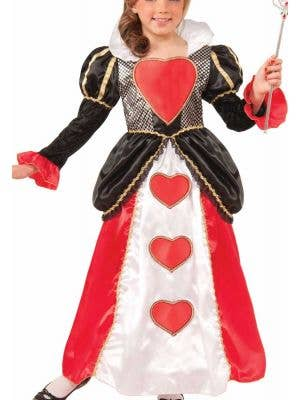 Sweetheart Queen Deluxe Girls Costume