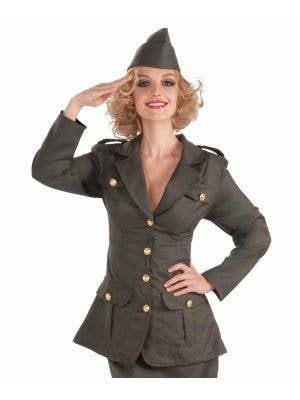 WWII Army Girl Women's 1940's Costume