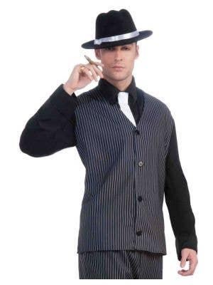 Striped 1920's Men's Gangster Costume