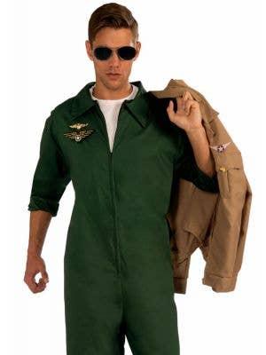 Aviator Men's Costume Flightsuit