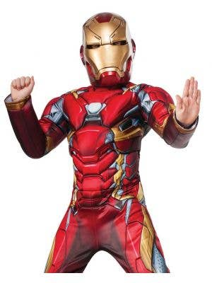Iron Man Marvel Comics Deluxe Boys Costume