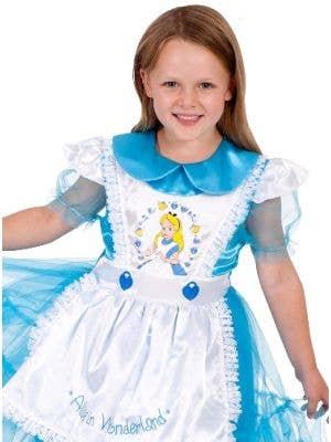 Disney Classic Alice In Wonderland Girls Costume