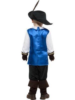 Musketeer Boys Fancy Dress Costume
