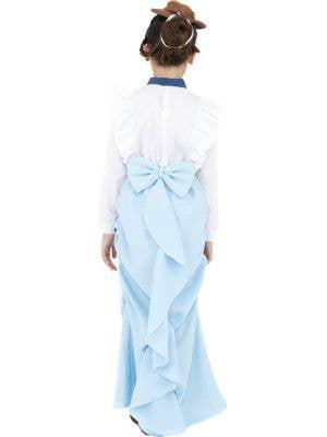 Posh Victorian Girls Fancy Dress Costume
